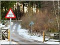 NJ5400 : Access to A93 (North Deeside Road) from Boddomend by Stanley Howe