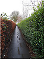 SE2233 : Path from Lower Tofts Road to Tofts Road, Pudsey by Stephen Craven