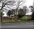 NZ8606 : St John's churchyard, Sleights by Stephen Craven