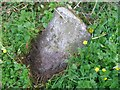 NS5134 : Old Milestone by the B7037, Sornhill, Galston Parish by Milestone Society