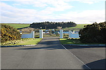 NS2006 : Exit Road from Turnberry LIghthouse by Billy McCrorie