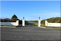 NS2006 : Entrance Road for Turnberry Lighthouse by Billy McCrorie