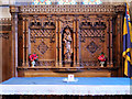 SJ0075 : War Memorial Chapel (reredos), St Margaret's Church by David Dixon