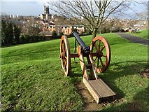 SO8554 : Cannon in Fort Royal Park by Philip Halling