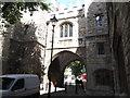 TQ3182 : St John's Gate by Eirian Evans