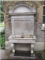 TQ3286 : Drinking Fountain, Clissold Mansion by Eirian Evans