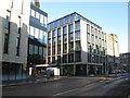 NT2473 : New building at Fountainbridge by M J Richardson