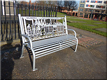 SE2932 : Salamanca bench by Stephen Craven