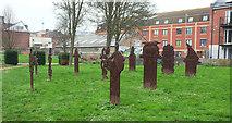ST5973 : Ruined, Brunswick Cemetery, Bristol by Derek Harper