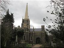 TQ3386 : Chapel in Abney Park Cemetery by John Slater