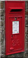 SS9390 : King George VI postbox in a High Street wall, Ogmore Vale by Jaggery