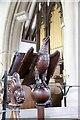 SU4577 : Eagle lectern by Bill Nicholls