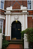 TQ2889 : Entrance to flats on Fortis Green by Christopher Hilton