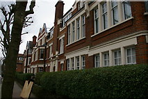 TQ2889 : Flats on Fortis Green by Christopher Hilton