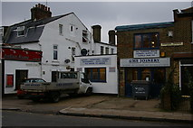 TQ2789 : Joinery shop, Fortis Green by Christopher Hilton