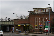 TQ2789 : East Finchley station by Christopher Hilton