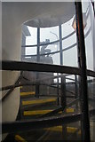TQ2789 : Stairwell, East Finchley station by Christopher Hilton