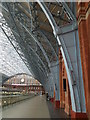TQ3083 : St Pancras Station - symmetry in engineering by Colin Cheesman