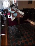 TQ7924 : St James the Great, Ewhurst Green: lectern by Basher Eyre