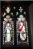 TQ7924 : St James the Great, Ewhurst Green: stained glass window (d) by Basher Eyre