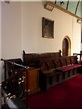 TQ7924 : St James the Great, Ewhurst Green: choir stalls by Basher Eyre