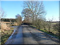 NY5932 : Road heading east to Skirwith by Christine Johnstone