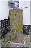 SX9473 : Old Boundary Marker by Milestone Society