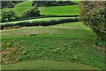 SX1061 : Restormel Castle: View from the Gatehouse Wall-walk by Michael Garlick