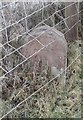 SE1442 : Old Boundary Marker by Otley Road, Hawksworth Moor, Bingley Parish by Milestone Society