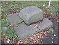 NZ1118 : Old Central Cross by The Green, Cleatlam Parish by Milestone Society