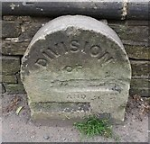 SE0724 : Old Boundary Marker by the A646, Burnley Road, Halifax Parish by Roger Templeman