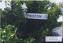 ST6660 : Old Direction Sign - Signpost by Milestone Society