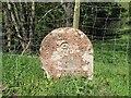 NY6043 : Old Boundary Marker by Raven Bridge, Kirkoswald by Milestone Society