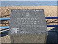 TM2832 : Memorial to three airmen on the Orwell Estuary 04/06/1940 (1) by Adrian S Pye