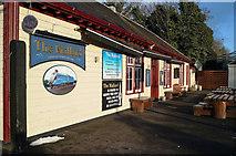 NH5558 : The Mallard at Dingwall Railway Station by Julian Paren