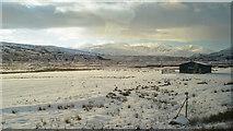 NH1658 : Shed by Achnasheen Station by Julian Paren