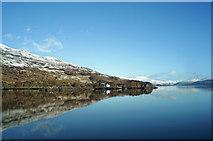 NG8635 : Loch Carron from near Stromeferry by Julian Paren