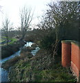TL1639 : The River Ivel and part of the Stanford Lane bridge by Humphrey Bolton