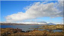 NG7731 : Looking across Port Cam, Duirinish by Julian Paren