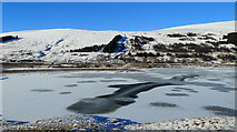 NH1455 : Frozen Loch Gowan by Julian Paren