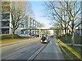 SP2976 : Canley, footbridge by Mike Faherty