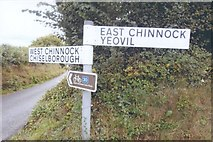 ST4613 : Direction Sign - Signpost at Snails Hill by J Dowding