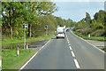 NX8473 : A75 near Crocketford by David Dixon