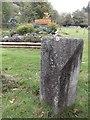 NH4216 : Old Milestone by the A82, Invermoriston by Milestone Society