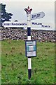NY6216 : Old Direction Sign - Signpost by Milestone Society
