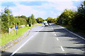 NX9375 : Layby on the Eastbound A75 near to Cargenbridge by David Dixon