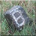 NY8912 : Old Boundary Marker by the A66, near Rowton Bridge, Stainmore parish by Milestone Society