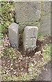 SX4775 : Old Boundary Marker by Hurdwick Farm, Okehampton Road, Tavistock parish by Milestone Society