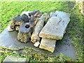 SD9647 : Old Wayside Cross in field by Herd Stock Hill, Cross Green, Carleton parish by Milestone Society