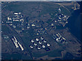 NZ5026 : Greatham Tank Farm from the air by Thomas Nugent